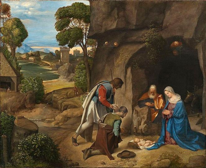 Giorgione Nativity 1507 National