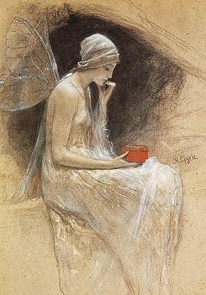 Νικόλαος-Γύζης-Ψυχή-1893